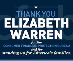consumer financial protection bureau elizabeth warren for senate consumer financial protection bureau