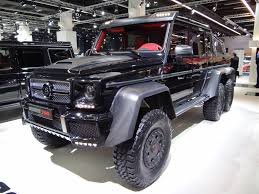 mercedes pickup truck 6x6 2013 brabus b63s is an exercise in delightful insanity
