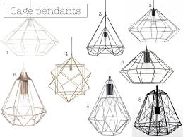 Cage Light Pendant Lighten Up With These Stunning Statement Pendant Lights Yes Please