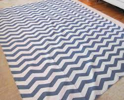 Blue And White Striped Rugs Uk Dhurrie Rugs Gallery