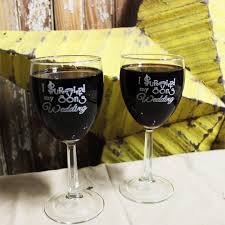 i survived my s wedding i survived my sons wedding wine glass set personalized glassware
