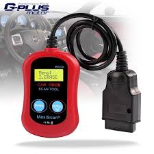 check engine light tool red obd2 maxiscan ms300 code reader check engine light reset tool