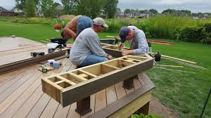 Cedar Deck Bench Bench Deck With Built In Bench Outdoor Living How To Build A Low