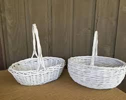 basket for wedding programs wedding program basket etsy