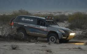 lexus rx off road baja 1000 in a lexus lx 570 behind the scenes truck trend