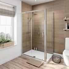 orchard 6mm sliding door rectangular shower enclosure