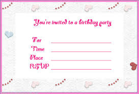 template for making birthday invitations free customizable invitation templates