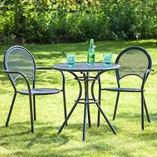 Kettler Bistro Table Outdoor Bistro Chairs And Table Classical Garden Outside Bistro