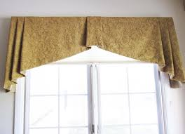 lynn chalk tapered box pleated valance is in robert allen spring