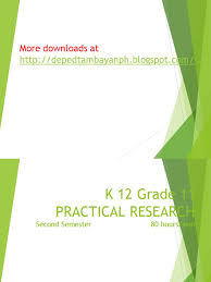k 12 grade 11 practical research 1 simplified quantitative