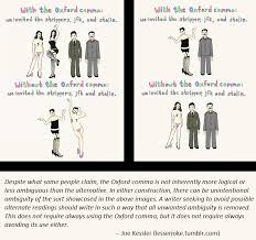 Oxford Comma Meme - thoughts on the oxford comma imgur