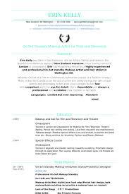 Sample Hair Stylist Resume Fashion Stylist Resume Examples