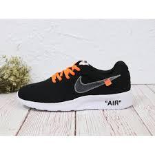 Nike Tanjun Black brand white x nike tanjun black sneakers outlet sale