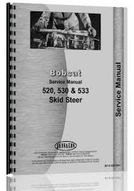 buy bobcat 520 skid steer loader service manual in cheap price on