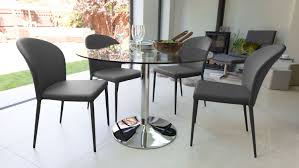 Glass Dining Table And Chairs Glass Dining Table And Stackable Dining Chairs Youtube