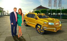 trumps gold house the ultimate trumpmobile personalised military style suv designed