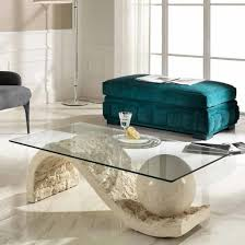 stone and glass coffee table savona stone glass coffee table stoondacoffee 75525 intended for
