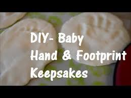 baby keepsake ornaments diy baby print keepsakes 3 ingredients so easy