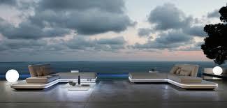 jardins et terrasses salon exterieur design canape elements canapé
