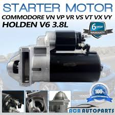 starter motor to fit holden commodore 3 8l v6 vn vp vr vs vt vx vy