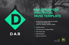 adobe muse mobile templates dar responsive adobe muse template website templates