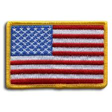 American Flag To Color American Flag Patch U2013 Iron On