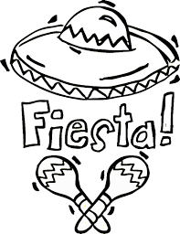 fiesta mexican coloring pages u2013 birthday printable