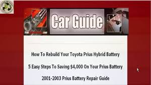 clickbank259 how to guide for rebuilding toyota prius hybrid