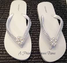 wedding flip flops bridal flip flops bridal flipflop wedding flip flops pearl
