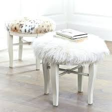 Bench Vanity Stools White Bathroom Vanity Bench Minnie Stool White With Pool