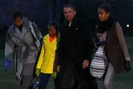 Obama First Family by Malia Obama Photos Photos First Family Returns To White House