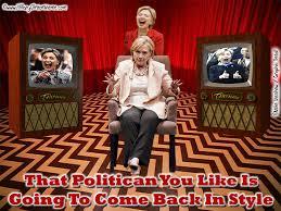 Twin Peaks Meme - hillary clinton and twin peaks hillary clinton meme