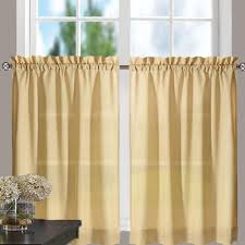 Yellow Ruffle Curtains by Stacey Kitchen U0026 Tier Curtains Ellis Curtain Curtainshop Com