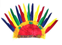 Chiefs Halloween Costumes Party Hats Indian Chiefs Feathers Cosplay Halloween Decorations