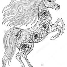 unicorn colouring book adults coloring pages