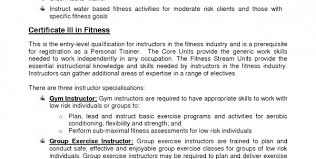 Sample Fitness Instructor Resume by Personal Trainer Resume Sample No Experience Personal Trainer