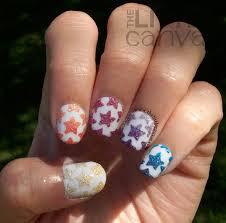 stars nail art fashion fuz
