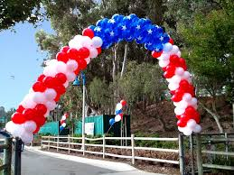 patriotic decorations patriotic balloon decorations make patriotic decorations