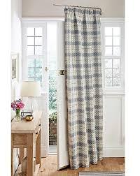 Door Curtains Quilted Thermal Tartan Door Curtain House Of Bath