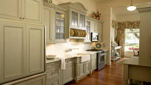 Antiqued White Kitchen Cabinets by Sage Green Kitchen Cabinets White Kitchen Cabinets With Light
