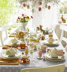 Cute Easter Table Decorations by
