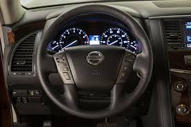 nissan pathfinder 2017 interior 2017 nissan armada takes on the toyota land cruiser