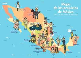 los 13 estereotipos comunes cuando se trata de armarios de segunda mano el mapa de los prejuicios de méxico así se ven unos a otros los