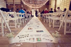 aisle runner wedding diy personalized aisle runner oh lovely day