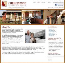 web site design cornerstone residential design cinemative