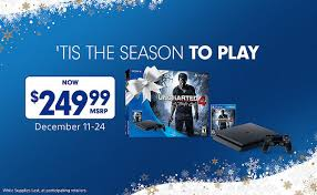 black friday sony playstation 4 ps4 price cut to 250 temporarily ubergizmo