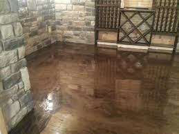brown mocha metallic marble epoxy flooring troy mi michigan
