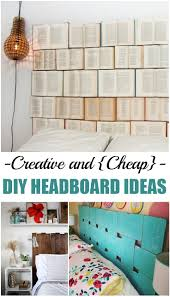 creative and cheap diy headboard ideas picky stitch and cheap