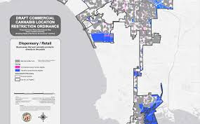San Diego County Zoning Map by New Map Shows Where La Would Allow Marijuana Dispensaries Curbed La