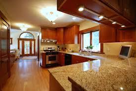 wooden kitchen countertop finishes linoleum wood floor brown